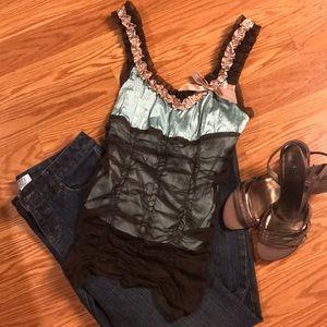 Moda International Silk Top